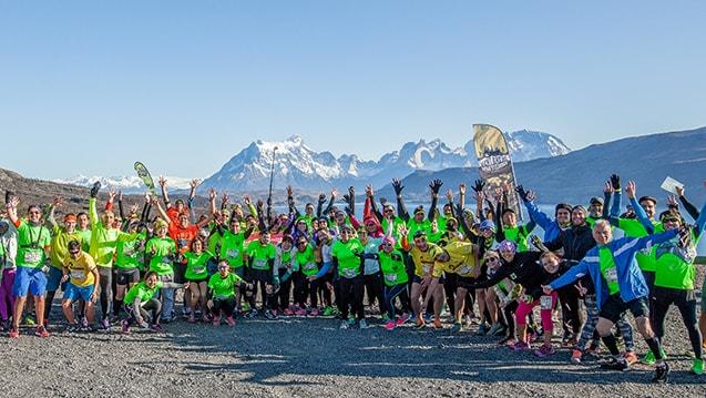 Patagonian International Marathon Partida Mirador Cuernos 2016