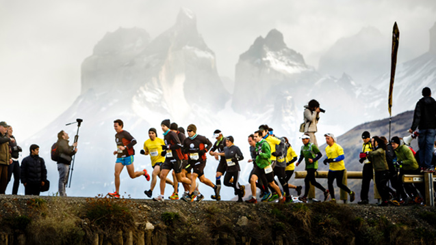 Patagonian International Marathon; Ruta; Route; Torres del Paine; Patagonia, Chile