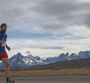 pim1509clsi2295Running in Patagonia, Torres del Paine, Chile; Marathon; Patagonia International Marathon Fourth Edition 2015