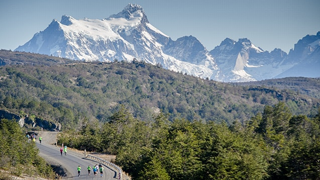 Road Running, Patagonian International Marathon 2016, Patagonia, Chile