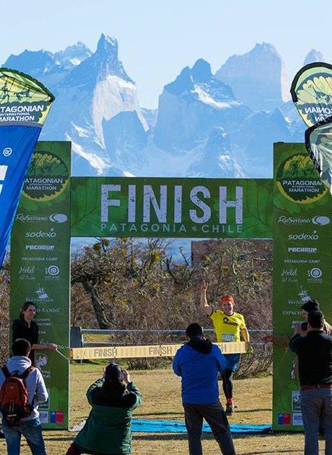 Patagonian International Marathon 2016 Patagonia, Chile