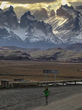Patagonian International Marathon 2017 Patagonia, Chile