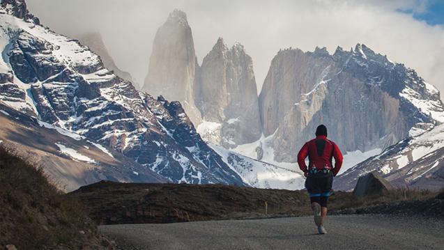 Patagonian International Marathon Torres del Paine National Park Corredor Runner