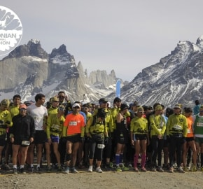 Patagonia Running, Torres del Paine National Park, Patagonia, Chile; Marathon; Partida 10 K; Patagonia International Marathon Second Edition 2013