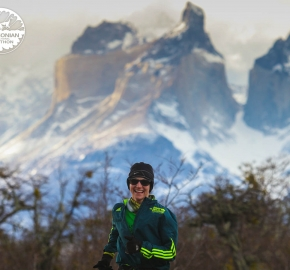 Running in Patagonia for the sixth edition of the Patagonian International Marathon 2017 in Provincia de Última Esperanza, Patagonia Chile; International Marathon; Sexta Edición Maratón de la Patagonia, Chile 2017
