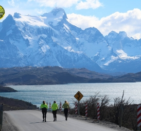 Running in Patagonia for the seventh edition of the Patagonian International Marathon 2018 in Provincia de Última Esperanza, Patagonia Chile; International Marathon; Séptima Edición Maratón de la Patagonia, Chile 2018Running in Patagonia for the seventh edition of the Patagonian International Marathon 2018 in Provincia de Última Esperanza, Patagonia Chile; International Marathon; Séptima Edición Maratón de la Patagonia, Chile 2018
