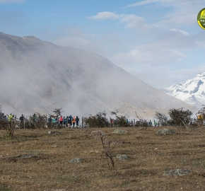 pim1909artr0247; Running in Patagonia for the eighth edition of the Patagonian International Marathon 2019 in Provincia de Última Esperanza, Patagonia Chile; International Marathon; Octava Edición Maratón de la Patagonia, Chile 2019;