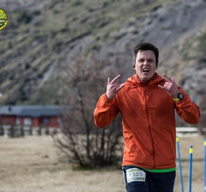 pim1909artr0297; Running in Patagonia for the eighth edition of the Patagonian International Marathon 2019 in Provincia de Última Esperanza, Patagonia Chile; International Marathon; Octava Edición Maratón de la Patagonia, Chile 2019;