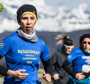 pim1909artr0370; Running in Patagonia for the eighth edition of the Patagonian International Marathon 2019 in Provincia de Última Esperanza, Patagonia Chile; International Marathon; Octava Edición Maratón de la Patagonia, Chile 2019;
