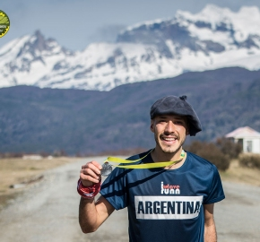 pim1909artr0378; Running in Patagonia for the eighth edition of the Patagonian International Marathon 2019 in Provincia de Última Esperanza, Patagonia Chile; International Marathon; Octava Edición Maratón de la Patagonia, Chile 2019;