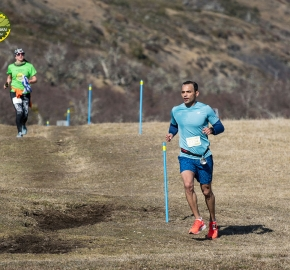 pim1909artr0395; Running in Patagonia for the eighth edition of the Patagonian International Marathon 2019 in Provincia de Última Esperanza, Patagonia Chile; International Marathon; Octava Edición Maratón de la Patagonia, Chile 2019;