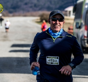 pim1909artr0531; Running in Patagonia for the eighth edition of the Patagonian International Marathon 2019 in Provincia de Última Esperanza, Patagonia Chile; International Marathon; Octava Edición Maratón de la Patagonia, Chile 2019;
