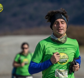 pim1909artr0546; Running in Patagonia for the eighth edition of the Patagonian International Marathon 2019 in Provincia de Última Esperanza, Patagonia Chile; International Marathon; Octava Edición Maratón de la Patagonia, Chile 2019;