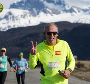 pim1909artr0550; Running in Patagonia for the eighth edition of the Patagonian International Marathon 2019 in Provincia de Última Esperanza, Patagonia Chile; International Marathon; Octava Edición Maratón de la Patagonia, Chile 2019;