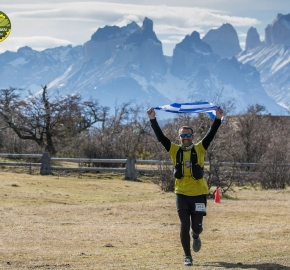 pim1909artr0579; Running in Patagonia for the eighth edition of the Patagonian International Marathon 2019 in Provincia de Última Esperanza, Patagonia Chile; International Marathon; Octava Edición Maratón de la Patagonia, Chile 2019;