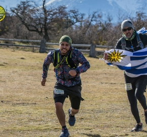 pim1909artr0583; Running in Patagonia for the eighth edition of the Patagonian International Marathon 2019 in Provincia de Última Esperanza, Patagonia Chile; International Marathon; Octava Edición Maratón de la Patagonia, Chile 2019;