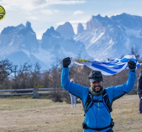 pim1909artr0603; Running in Patagonia for the eighth edition of the Patagonian International Marathon 2019 in Provincia de Última Esperanza, Patagonia Chile; International Marathon; Octava Edición Maratón de la Patagonia, Chile 2019;