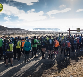 pim1909artr7596; Running in Patagonia for the eighth edition of the Patagonian International Marathon 2019 in Provincia de Última Esperanza, Patagonia Chile; International Marathon; Octava Edición Maratón de la Patagonia, Chile 2019;