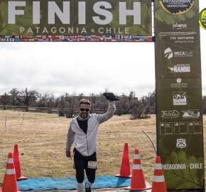 pim1909artr7669; Running in Patagonia for the eighth edition of the Patagonian International Marathon 2019 in Provincia de Última Esperanza, Patagonia Chile; International Marathon; Octava Edición Maratón de la Patagonia, Chile 2019;