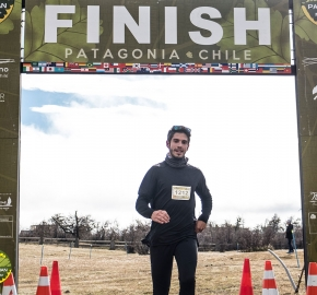 pim1909artr7674; Running in Patagonia for the eighth edition of the Patagonian International Marathon 2019 in Provincia de Última Esperanza, Patagonia Chile; International Marathon; Octava Edición Maratón de la Patagonia, Chile 2019;
