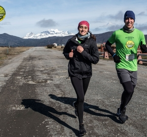 pim1909artr7729; Running in Patagonia for the eighth edition of the Patagonian International Marathon 2019 in Provincia de Última Esperanza, Patagonia Chile; International Marathon; Octava Edición Maratón de la Patagonia, Chile 2019;