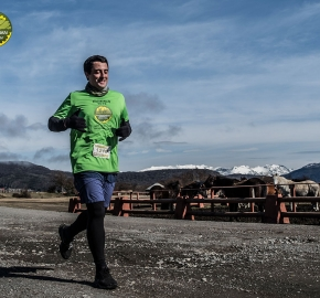 pim1909artr7731; Running in Patagonia for the eighth edition of the Patagonian International Marathon 2019 in Provincia de Última Esperanza, Patagonia Chile; International Marathon; Octava Edición Maratón de la Patagonia, Chile 2019;