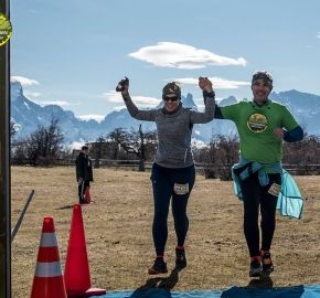 pim1909artr7744; Running in Patagonia for the eighth edition of the Patagonian International Marathon 2019 in Provincia de Última Esperanza, Patagonia Chile; International Marathon; Octava Edición Maratón de la Patagonia, Chile 2019;