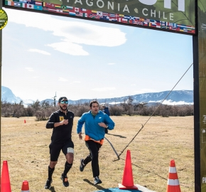 pim1909artr7761; Running in Patagonia for the eighth edition of the Patagonian International Marathon 2019 in Provincia de Última Esperanza, Patagonia Chile; International Marathon; Octava Edición Maratón de la Patagonia, Chile 2019;