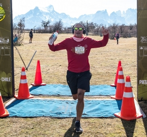 pim1909artr7765; Running in Patagonia for the eighth edition of the Patagonian International Marathon 2019 in Provincia de Última Esperanza, Patagonia Chile; International Marathon; Octava Edición Maratón de la Patagonia, Chile 2019;