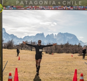 pim1909artr7791; Running in Patagonia for the eighth edition of the Patagonian International Marathon 2019 in Provincia de Última Esperanza, Patagonia Chile; International Marathon; Octava Edición Maratón de la Patagonia, Chile 2019;