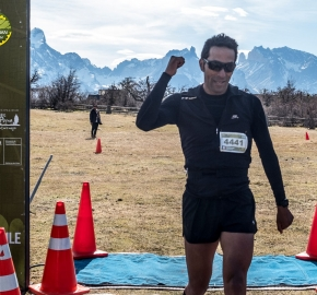 pim1909artr7794; Running in Patagonia for the eighth edition of the Patagonian International Marathon 2019 in Provincia de Última Esperanza, Patagonia Chile; International Marathon; Octava Edición Maratón de la Patagonia, Chile 2019;