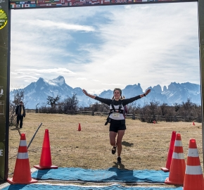 pim1909artr7903; Running in Patagonia for the eighth edition of the Patagonian International Marathon 2019 in Provincia de Última Esperanza, Patagonia Chile; International Marathon; Octava Edición Maratón de la Patagonia, Chile 2019;