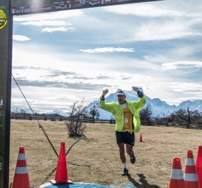 pim1909artr8092; Running in Patagonia for the eighth edition of the Patagonian International Marathon 2019 in Provincia de Última Esperanza, Patagonia Chile; International Marathon; Octava Edición Maratón de la Patagonia, Chile 2019;