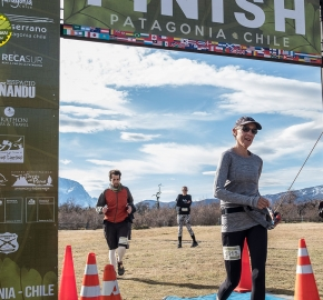pim1909artr8112; Running in Patagonia for the eighth edition of the Patagonian International Marathon 2019 in Provincia de Última Esperanza, Patagonia Chile; International Marathon; Octava Edición Maratón de la Patagonia, Chile 2019;