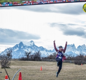 pim1909artr8172a; Running in Patagonia for the eighth edition of the Patagonian International Marathon 2019 in Provincia de Última Esperanza, Patagonia Chile; International Marathon; Octava Edición Maratón de la Patagonia, Chile 2019;