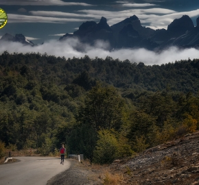 pim1909feve1042; Running in Patagonia for the eighth edition of the Patagonian International Marathon 2019 in Provincia de Última Esperanza, Patagonia Chile; International Marathon; Octava Edición Maratón de la Patagonia, Chile 2019;