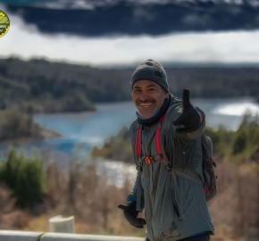 pim1909feve1071; Running in Patagonia for the eighth edition of the Patagonian International Marathon 2019 in Provincia de Última Esperanza, Patagonia Chile; International Marathon; Octava Edición Maratón de la Patagonia, Chile 2019;
