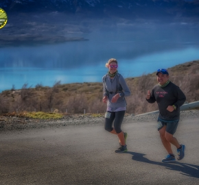 pim1909feve1195; Running in Patagonia for the eighth edition of the Patagonian International Marathon 2019 in Provincia de Última Esperanza, Patagonia Chile; International Marathon; Octava Edición Maratón de la Patagonia, Chile 2019;