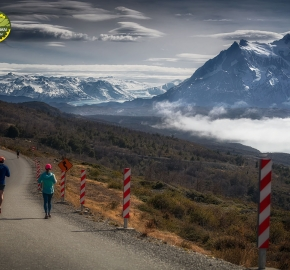 pim1909feve1209; Running in Patagonia for the eighth edition of the Patagonian International Marathon 2019 in Provincia de Última Esperanza, Patagonia Chile; International Marathon; Octava Edición Maratón de la Patagonia, Chile 2019;