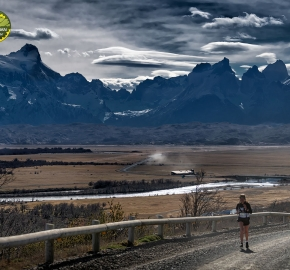 pim1909feve1255; Running in Patagonia for the eighth edition of the Patagonian International Marathon 2019 in Provincia de Última Esperanza, Patagonia Chile; International Marathon; Octava Edición Maratón de la Patagonia, Chile 2019;