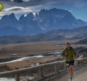pim1909feve1267; Running in Patagonia for the eighth edition of the Patagonian International Marathon 2019 in Provincia de Última Esperanza, Patagonia Chile; International Marathon; Octava Edición Maratón de la Patagonia, Chile 2019;