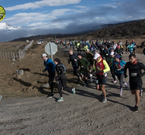 pim1909gusa3007e; Running in Patagonia for the eighth edition of the Patagonian International Marathon 2019 in Provincia de Última Esperanza, Patagonia Chile; International Marathon; Octava Edición Maratón de la Patagonia, Chile 2019;