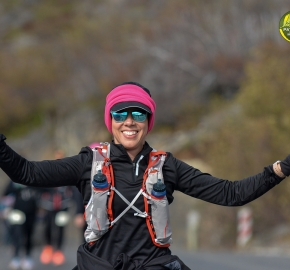 pim1909gusa3224e; Running in Patagonia for the eighth edition of the Patagonian International Marathon 2019 in Provincia de Última Esperanza, Patagonia Chile; International Marathon; Octava Edición Maratón de la Patagonia, Chile 2019;