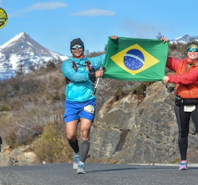 pim1909gusa3285e; Running in Patagonia for the eighth edition of the Patagonian International Marathon 2019 in Provincia de Última Esperanza, Patagonia Chile; International Marathon; Octava Edición Maratón de la Patagonia, Chile 2019;