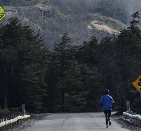 pim1909gusa3366e; Running in Patagonia for the eighth edition of the Patagonian International Marathon 2019 in Provincia de Última Esperanza, Patagonia Chile; International Marathon; Octava Edición Maratón de la Patagonia, Chile 2019;