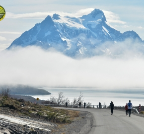pim1909gusa3594e; Running in Patagonia for the eighth edition of the Patagonian International Marathon 2019 in Provincia de Última Esperanza, Patagonia Chile; International Marathon; Octava Edición Maratón de la Patagonia, Chile 2019;