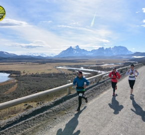 pim1909gusa3628e; Running in Patagonia for the eighth edition of the Patagonian International Marathon 2019 in Provincia de Última Esperanza, Patagonia Chile; International Marathon; Octava Edición Maratón de la Patagonia, Chile 2019;