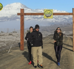 pim1909javi0120; Running in Patagonia for the eighth edition of the Patagonian International Marathon 2019 in Provincia de Última Esperanza, Patagonia Chile; International Marathon; Octava Edición Maratón de la Patagonia, Chile 2019;