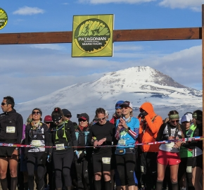 pim1909javi0151; Running in Patagonia for the eighth edition of the Patagonian International Marathon 2019 in Provincia de Última Esperanza, Patagonia Chile; International Marathon; Octava Edición Maratón de la Patagonia, Chile 2019;