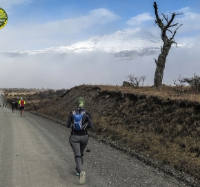pim1909javi0174; Running in Patagonia for the eighth edition of the Patagonian International Marathon 2019 in Provincia de Última Esperanza, Patagonia Chile; International Marathon; Octava Edición Maratón de la Patagonia, Chile 2019;